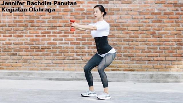 Jennifer Bachdim Panutan Kegiatan Olahraga